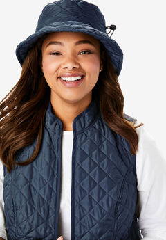 Quilted Bucket Hat,