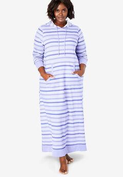 Long Hooded Sweatshirt Lounger by Dreams & Co.®,