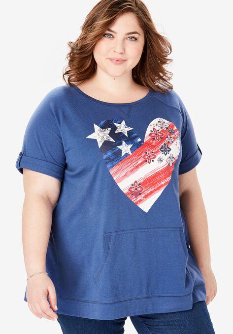 32d053cde8b Americana Sweatshirt Tee