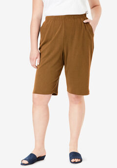 7-Day Knit Bermuda Shorts,