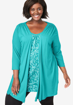 Layered 2-in-1 Tunic,
