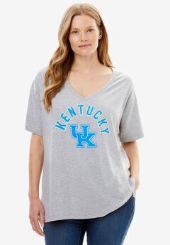 NCAA Front Graphic V-neck Tee, KENTUCKY, hi-res
