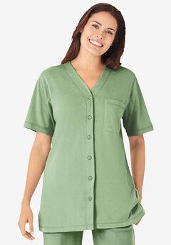 Short-Sleeve Baseball Tunic,