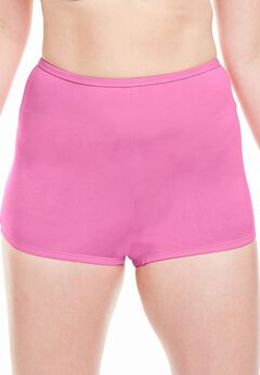 Stretch Microfiber Boyshort By Comfort Choice®, RASPBERRY PINK