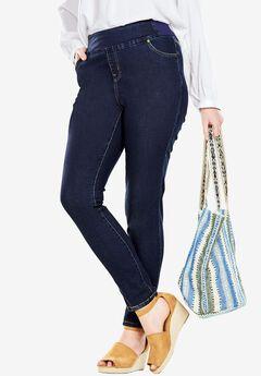 Smooth Waist Skinny Jean, INDIGO, hi-res