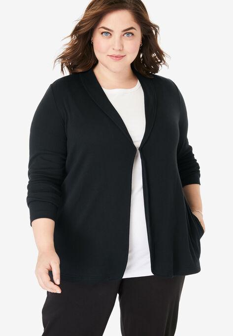 822ec1824 7-Day Knit Jacket
