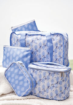 On-The-Go Storage Bag, BLUEBERRY CREAM FLORAL PRINT, hi-res