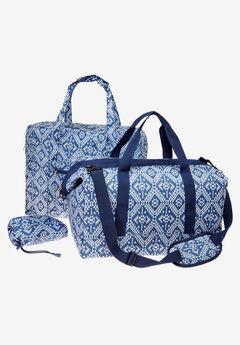3-Piece Rainy Day Poncho & Bag Set,
