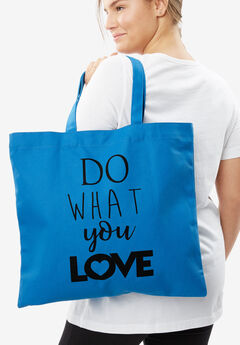 The Statement Tote, DO WHAT YOU LOVE, hi-res