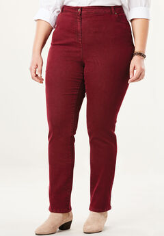 Stretch Skinny Jean, RICH BURGUNDY