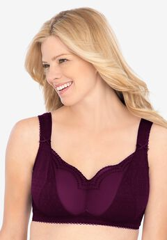 Comfort Choice® Wireless Gel Strap Bra,