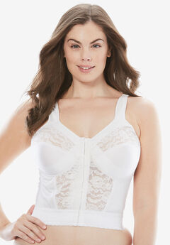 Easy Enhancer® Wireless Longline Posture Bra by Comfort Choice®,