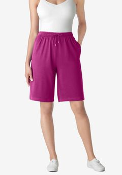 Sport Knit Short, RASPBERRY