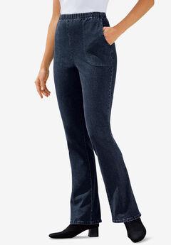 7cafa8e2f99ec Plus Size Bootcut   Wide Leg Jeans