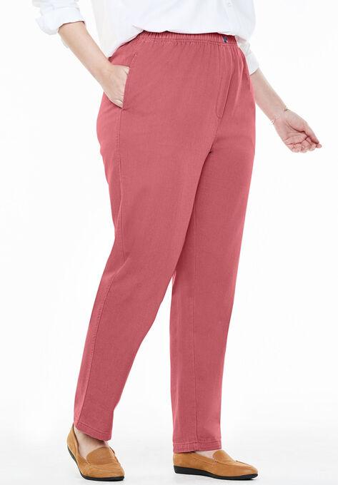16b6842c0631d Cotton Straight Leg Mockfly Jean