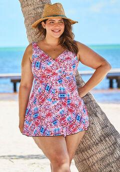 Surplice Swim Dress by Swim 365,