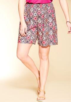 Soft Smocked Shorts by Chelsea Studio®,
