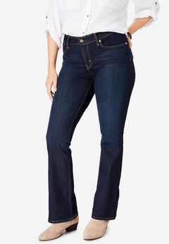 Signature by Levi Strauss & Co.™ Gold Label Women's Plus Mid-Rise Boot Cut Jeans,
