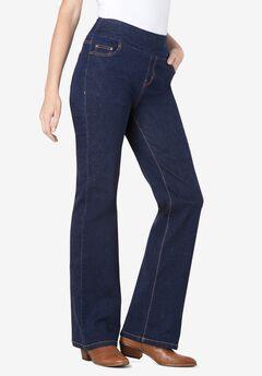 Pull-On Bootcut Jean, INDIGO