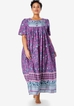 Mixed Print Long Lounger by Only Necessities®, RADIANT ORCHID MULTI