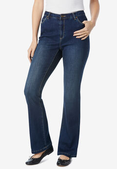 Perfect Bootcut Jean, DARK SANDED WASH
