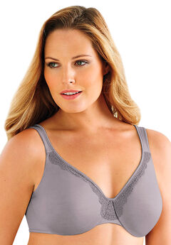 Lilyette® by Bali® Endless Smooth Minimizer® Underwire, SILVER, hi-res