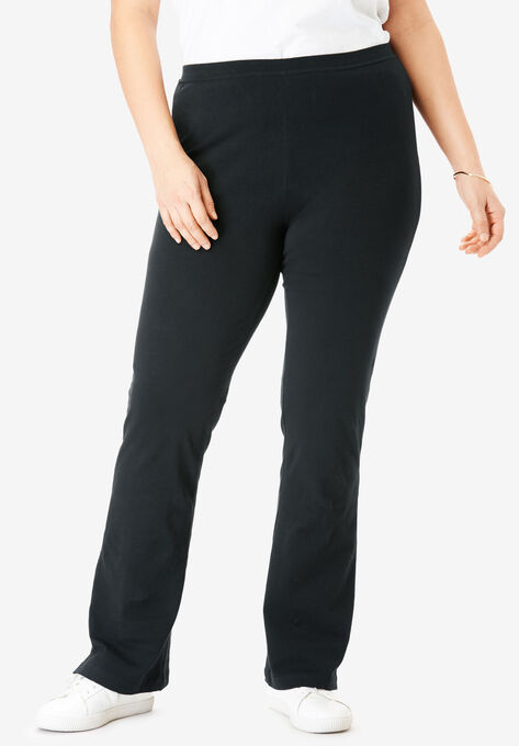 00a38af254f7e Stretch Cotton Bootcut Yoga Pant