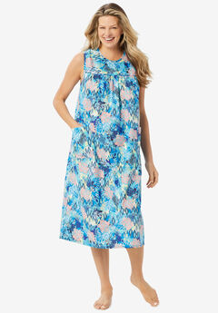 Sleeveless Print Lounger ,