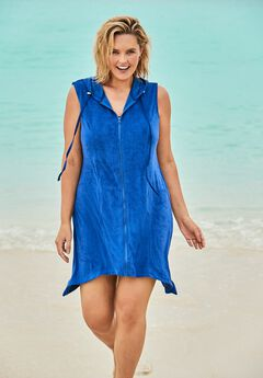 Sleeveless Terry Cover Up,