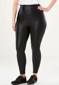 Classic Shine Legging, BLACK, hi-res