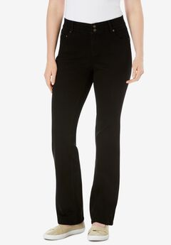 Bootcut Tummy Tamer Jean, BLACK DENIM