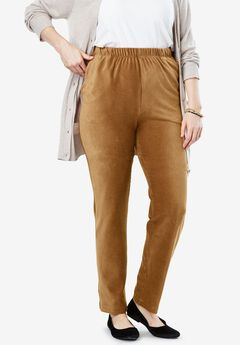 Ribbed Straight Leg Pant,
