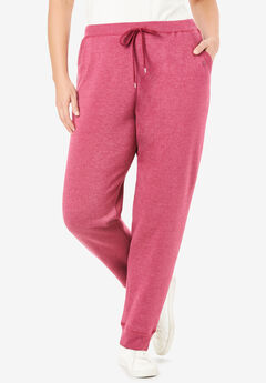 Better Fleece Jogger Sweatpant, HEATHER DEEP CRANBERRY