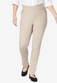 Smooth Waist Skinny Jean, NATURAL KHAKI