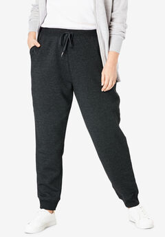 Better Fleece Jogger Sweatpant, HEATHER CHARCOAL