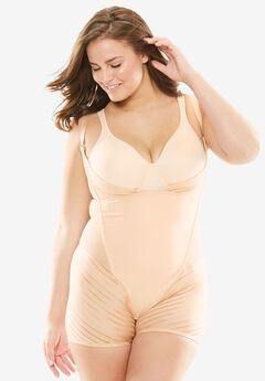 Wear-Your-Own-Bra Body Briefer by Secret Solutions,