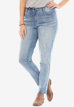 No-gap skinny jeans,