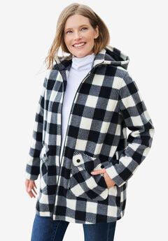 Hooded Fleece Coat,