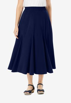 Woman Within® Soft Knit Skirt,