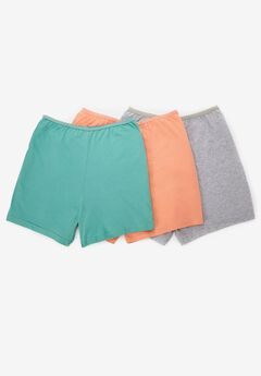 3-Pack Cotton Boyshort by Comfort Choice®,