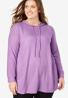 Cozy Hooded Tunic,