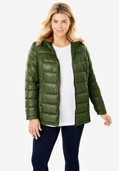 Packable Puffer Jacket,