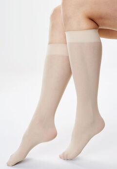 c6f4b1c4b 3-Pack Knee-High Support Socks by Comfort Choice®