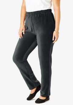 Ribbed Straight Leg Pant,