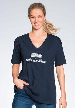 V-Neck NFL Tee, SEAHAWKS