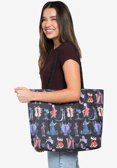 Disney Villains Travel Rope Tote Bag All-Over Print,