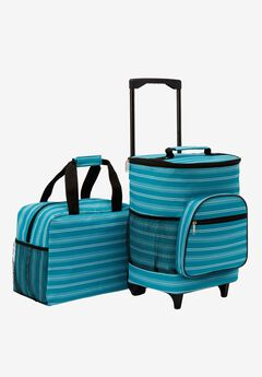 Tote & Trolley Cooler Set,