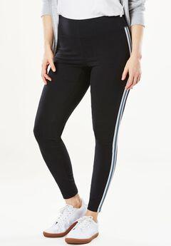 Multi-Stripe Legging, BLACK DUSTY INDIGO, hi-res