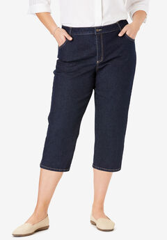 Capri Stretch Jean, INDIGO
