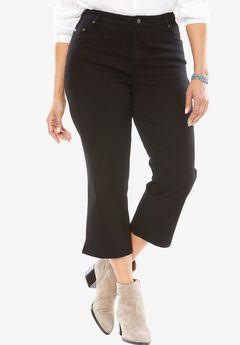 Capri Stretch Jean, BLACK, hi-res